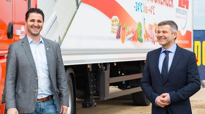 Spatenstich Meyer Logistik Österreich – eine Stärkung des Wirtschafts-Standorts Vorchdorf.